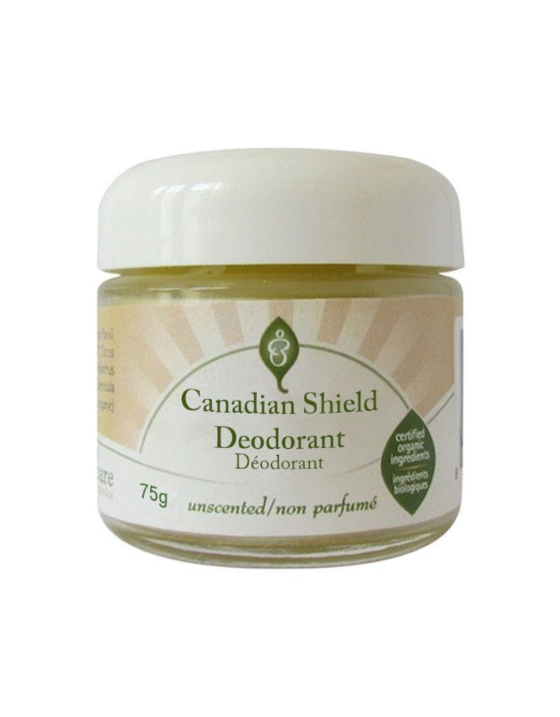 Bare Organics bare organics canadian shield deodorant 75g jar - unscented