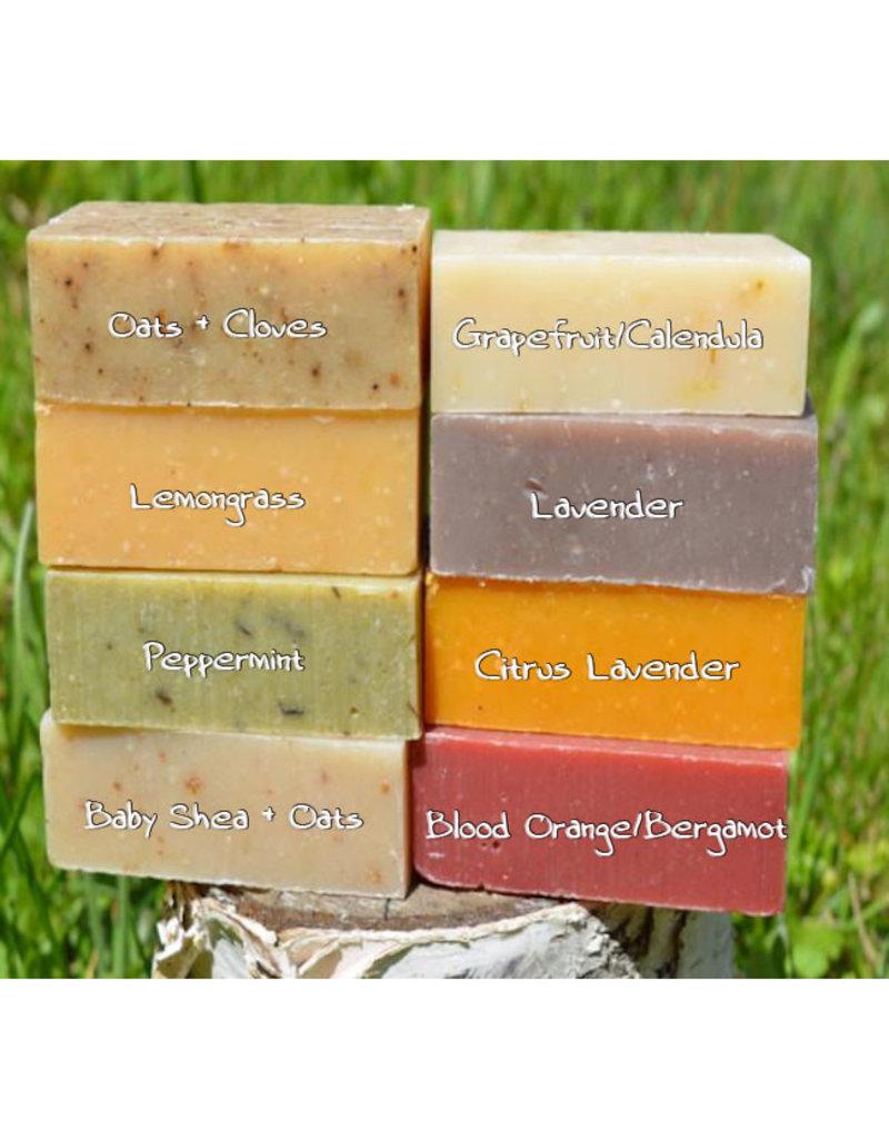 Bare Organics bare organics naked bar soaps - shea + oats baby 113g