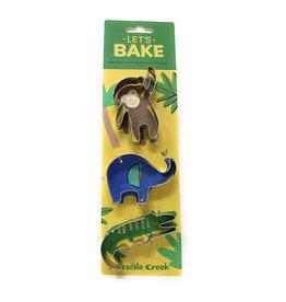 Crocodile Creek crocodile creek let's bake jungle cookie cutter set
