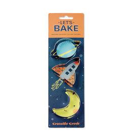 Crocodile Creek crocodile creek let's bake space cookie cutter set