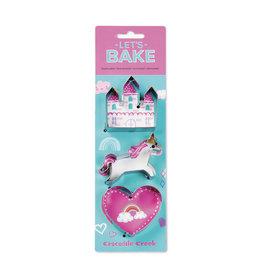 Crocodile Creek crocodile creek let's bake unicorn cookie cutter set