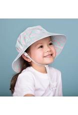 Twinklebelle jan + jul by twinklebelle aqua dry bucket sun hat - coral
