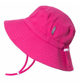 Twinklebelle jan + jul by twinklebelle aqua dry bucket sun hat - hot pink