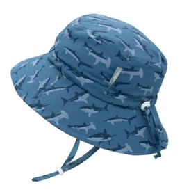 Twinklebelle jan + jul by twinklebelle aqua dry bucket sun hat - shark