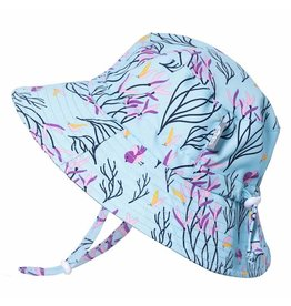Twinklebelle jan + jul by twinklebelle aqua dry bucket sun hat - spring flowers