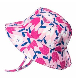 Twinklebelle jan + jul by twinklebelle aqua dry bucket sun hat - tulip