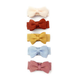 Baby Wisp baby wisp small snap chic bow 5pk - squad goals