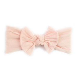 Baby Wisp baby wisp nylon bow infant headband - ballet pink