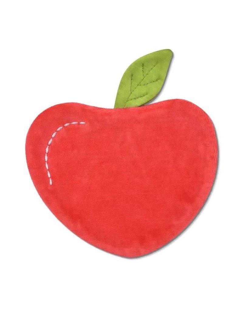 Apple Park apple park organic fruit + veggie crinkle blankie - apple