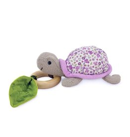 Apple Park apple park organic crawling turtle teething toy purple