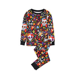 Hatley hatley day of the dead kids pajama set