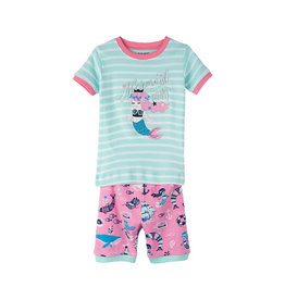 Hatley hatley sweet mermaid kids short pajama set