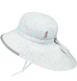 Twinklebelle jan + jul by twinklebelle aqua dry adventure sun hat - coral print