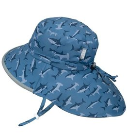 Twinklebelle jan + jul by twinklebelle aqua dry adventure sun hat - shark