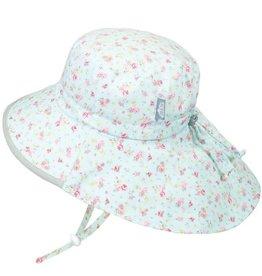 Twinklebelle jan + jul by twinklebelle cotton adventure sun hat - retro rose