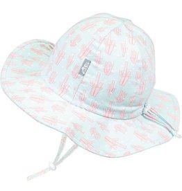 Twinklebelle jan + jul by twinklebelle cotton floppy sun hat - coral