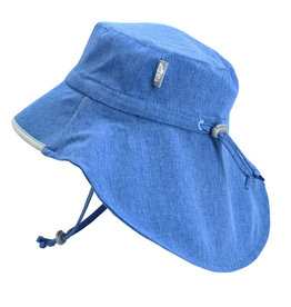Twinklebelle jan + jul by twinklebelle aqua dry adventure sun hat - blue