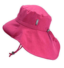 Twinklebelle jan + jul by twinklebelle aqua dry adventure sun hat - hot pink
