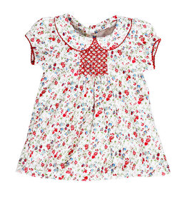Pineapple Sunshine pineapple sunshine madison poppy floral dress with ruffle bloomer