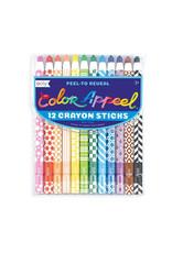 Ooly ooly color apeel crayons - set of 12