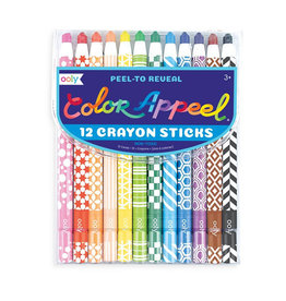 Ooly ooly color apeel crayons - set of 12