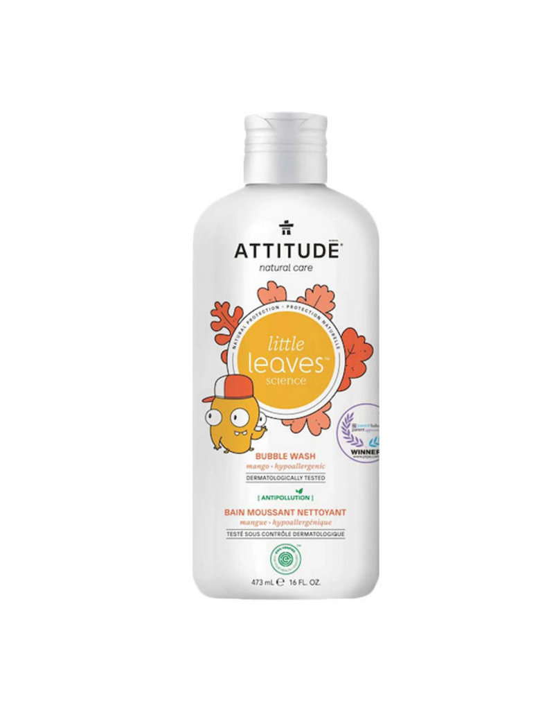 Attitude attitude little leaves bubble bath - mango 473 ml