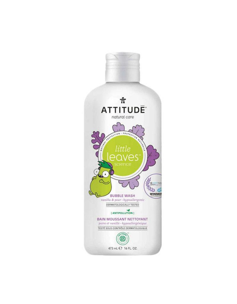Attitude attitude little leaves bubble bath - vanilla + pear 473 ml