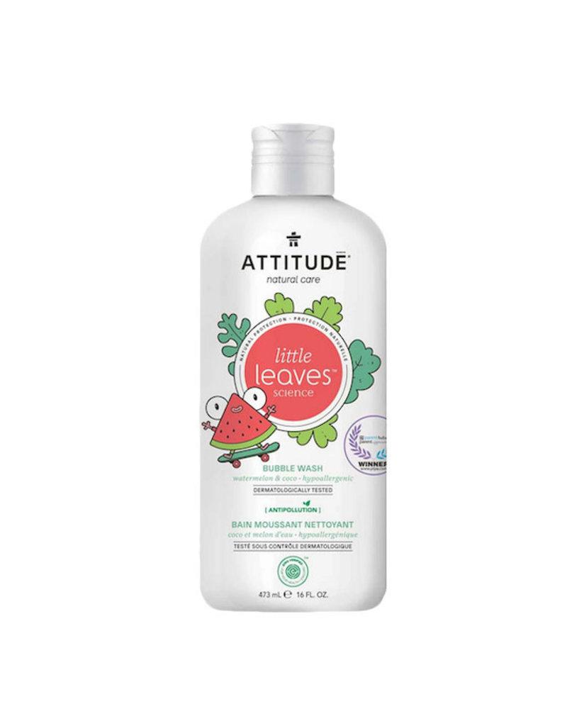 Attitude attitude little leaves bubble bath - watermelon + coco 473 ml