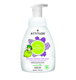 Attitude attitude little leaves foaming hand soap vanilla + pear 295 ml