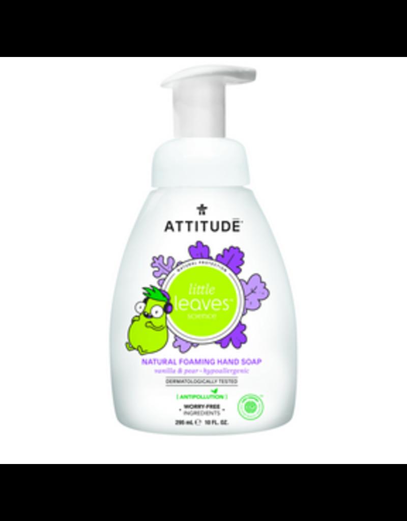 Attitude attitude little leaves foaming hand soap - vanilla + pear 295 ml