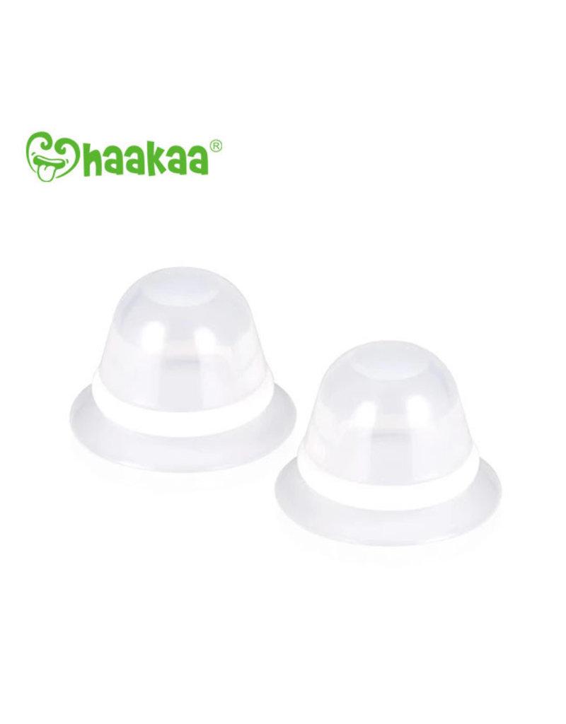 Haakaa haakaa silicone inverted nipple corrector 2pk