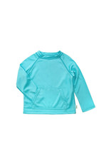green sprouts breathable sun protection shirt - light aqua