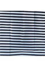 BabyPaper baby paper crinkle toy - black + white stripes