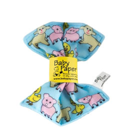 BabyPaper baby paper crinkle toy - farm animal