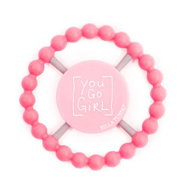 Bella Tunno bella tunno silicone happy teether - you go girl