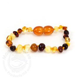 """Momma Goose momma goose multi amber baby bracelet 5.5"""""""