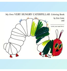 eric carle; my own very hungry caterpillar coloring book, paperback