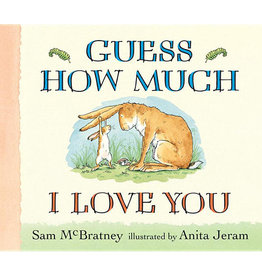 Candlewick Press mcbratney, sam; guess how much i love you, lap-sized board book