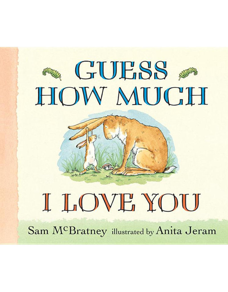 Candlewick Press mcbratney, sam; guess how much i love you, lap sized board book