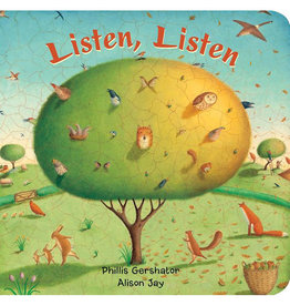 Barefoot Books gershator, phillis; listen, listen, big board book