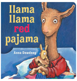 dewdney, anna; llama llama red pajama lap sized board book