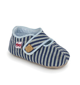 See Kai Run see kai run cruz crib shoe - blue stripes