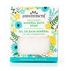 Anointment anointment recovery mineral bath soak 100g