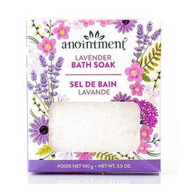 Anointment anointment lavender bath soak 100g