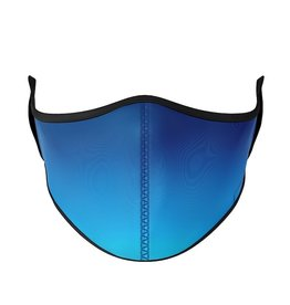 Top Trenz top trenz medium 8 years+ youth/adult mask - blue ombre