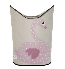 3 Sprouts 3 sprouts laundry hamper - swan