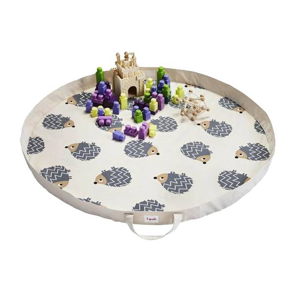 3 Sprouts 3 sprouts play mat bag - hedgehog