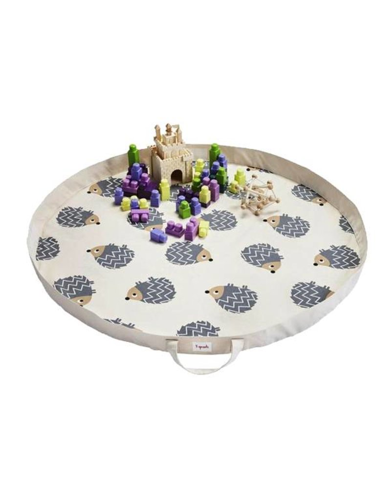 3 Sprouts 3 sprouts hedgehog play mat bag