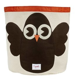 3 Sprouts 3 sprouts storage bin - brown owl