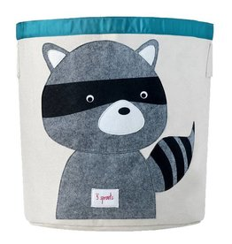 3 Sprouts 3 sprouts storage bin - raccoon